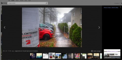 iframe bing screenshot by m. mahlke