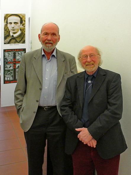 Ernst Friedrich, Jörg Becker, M. Grothe - Foto: Michael Mahlke